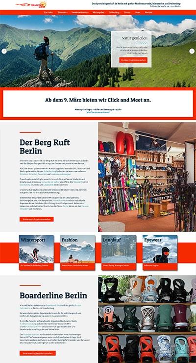 Referenzen DSHG: Berg ruft & Boarderline Berlin
